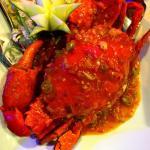 Singaporean style crab