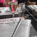 champagne + carte