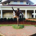 Payne Statue