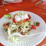 My Fish Taco at Mercado Negra in Ensenada, Mexco