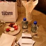 Amenity in my room after the meeting