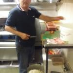 Head chef making prepration for friday...