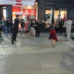 Just outside the hotel saw some street tango
