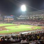 国内で一番好きな球場かも。