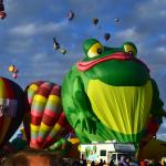 Frog Balloon at 2014 festival