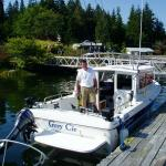 Captain Mike at Bamfield Lodge