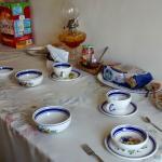 Desayuno continental tipo buffete
