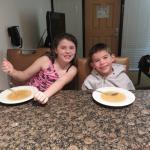 Kitchen dinner time