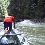 Going upsteam on the Pagsanjan River
