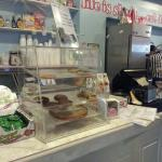 Counter Area at Scoop DeVille Ice Cream Parlor