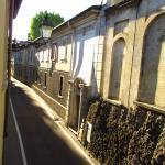 Вид из номера. Стена кладбища))