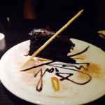 Chocolate Fudge Cake - Very well presented