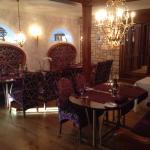 Corner of the beautiful restaurant