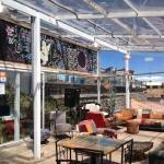 Bar do hotel (onde tb é servido o café da manhã)