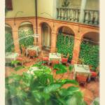 sala ristorante principale vista dal 1° piano