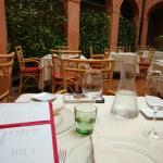 la sala ristorante principale