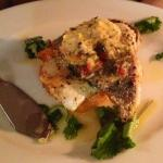 Swordfish with coconut butter