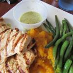 Chicken breast with green beans