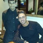 TOWIE star Mario with our team member Shilu
