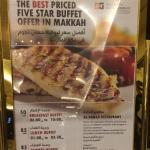 من اروع المطاعم اللي زرتها في مكة