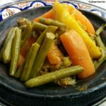 Tajin de pollo, segundo plato menú del día