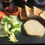 Foie gras maison délicieux