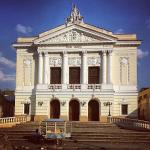 Fachada do Teatro municipal