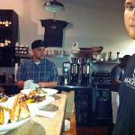 Chef Clinton Johns at Magpie Cafe
