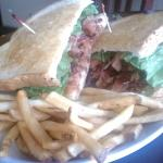 Our BLT is HUGE, as well as delicious!