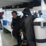 Preparing for the next dive