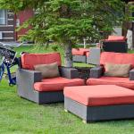 Lexington Bike Red Seats