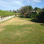 Alternate view of the interior (exterior grounds) of the fort.