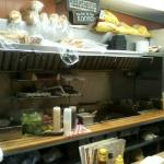 The open kitchen grill