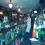 Inside the Joe Allen Bar, Paris - Mike the Bartender