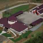 The Stables At Brasstown Aerial Shot