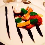 Monkfish With Chorizo, Squid & Crab