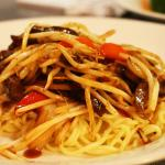 Beef chilli noodle