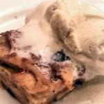 Dessert: Dolce & Banana (Warm Banana flambé Bread Pudding served with Vanilla Ice Cream) YUMMY!!