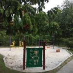 Play area inside Hort park