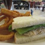 1/2 Tuna Sandwich, Onion Rings, Fenton's Creamery, Vacaville, CA