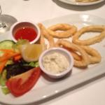 Calamari - perfectly cooked