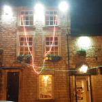 The worst xmas lights on a pub ever