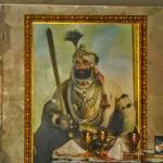 Beautiful painting inside Khansama.