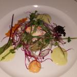 Tartar of crab and halibut