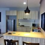 Partial furnished kitchenette