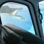 Vista do helicoptero. Sem fotoshop.