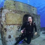 Diving with EPIC at the Kittiwake.