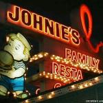 In the years before Bob's, the restaurant operated as Harvey's Broiler, then Johnie's Broiler. P