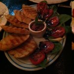 The Mediterranean appetizer is delicious