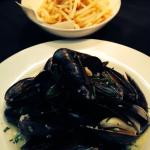 Moules marinieres frites
